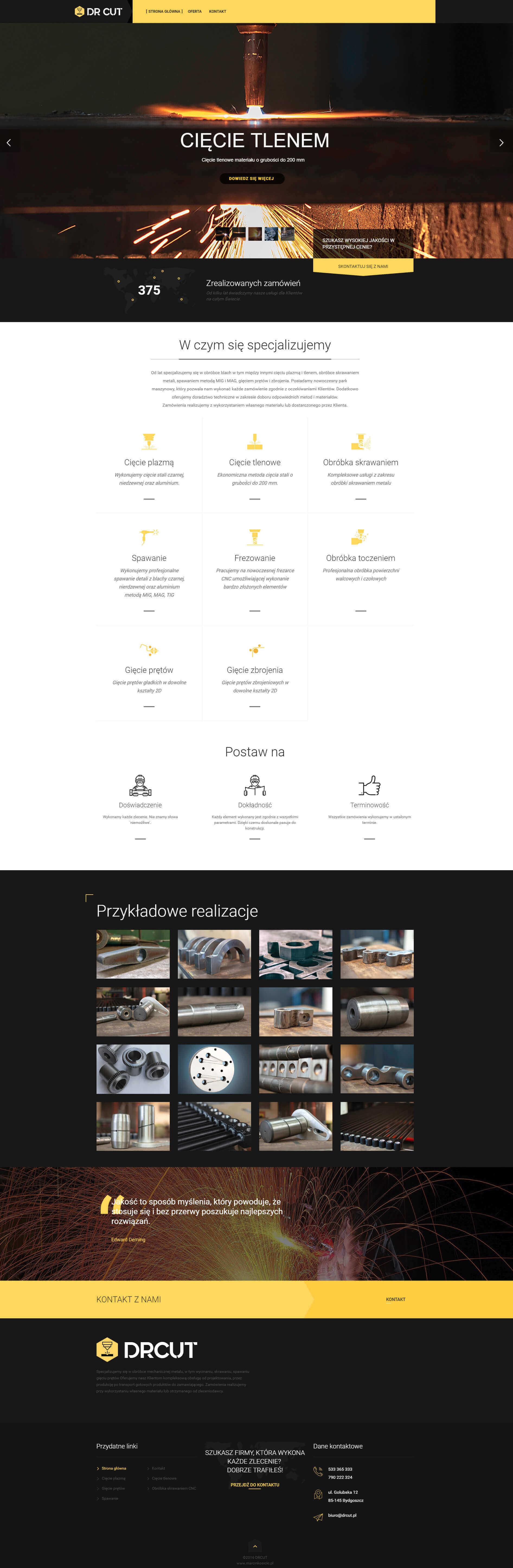 projekt-strony-internetowej-dr-cut-bydgoszcz