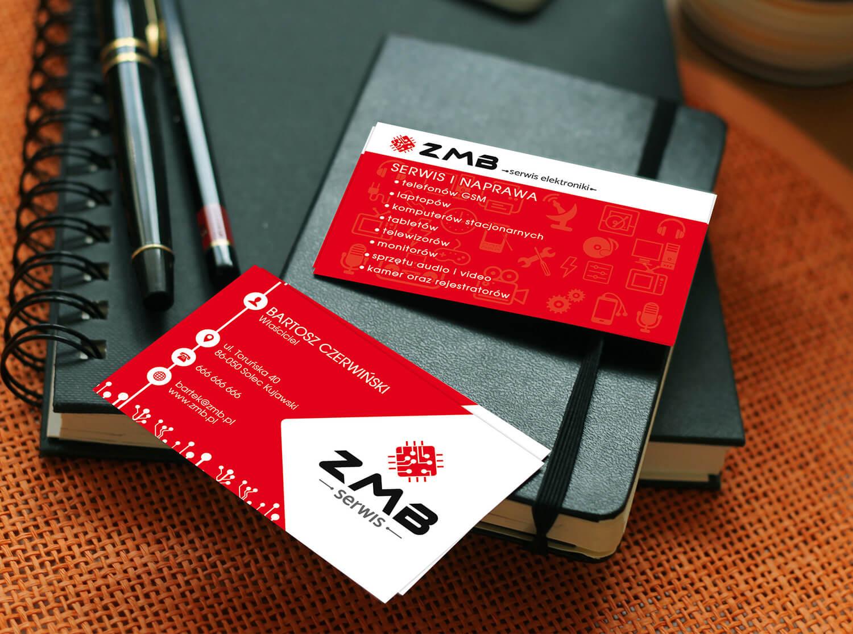 Projekt wizytówki ZMB serwis